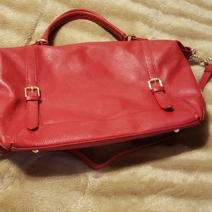 Ora Delphine red purse brighten your day!